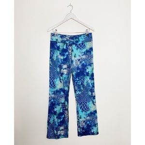 HUK Kryptek Pontus Fish Pattern Yoga Pants M